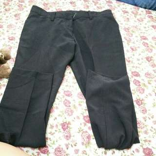 Trouser Celana Hitam Kerja Authentic The Executive