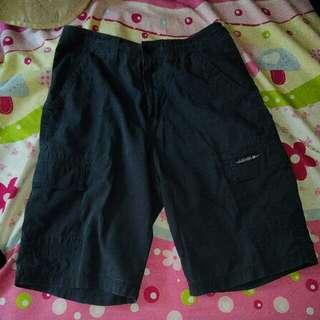 腳鴨子休閒褲,單面平量腰圍36公分