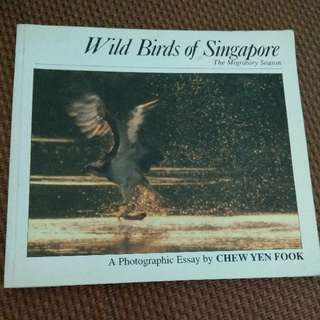 Wild Birds of Singapore Book