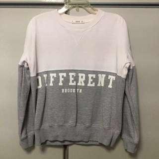 MANGO Duotone Sweater