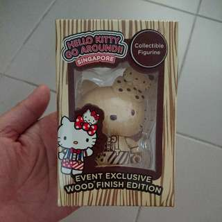 BNIB Cheapest Ever! Hello Kitty Go Around Figurine