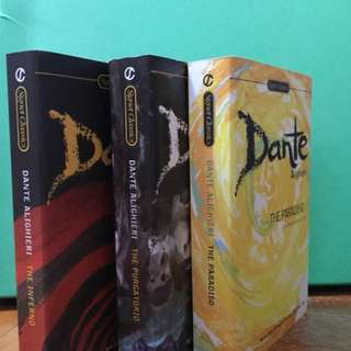 The Dante trilogy - inferno, purgatorio, paradiso