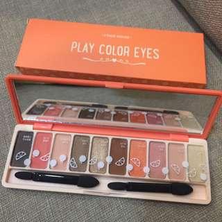 愛麗小屋 香柚西柚橘粉色系 眼影盤