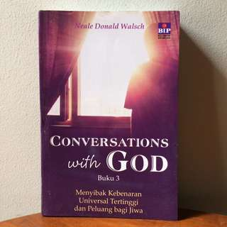 Conversations with God 1&2 by Neale Donald Walsch