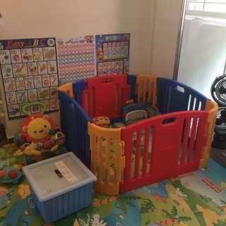 Edu Play Baby Bear Zone - Play Yard