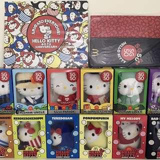 2 sets Hello Kitty - SG50 & Bubbly World (40th Anniversary)
