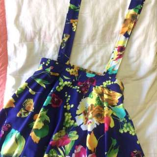 Floral Jumpskirt