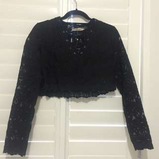 Nasty Gal Lace Top