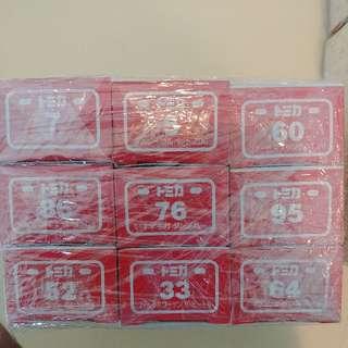 Takara tomy Cars 30 Boxes