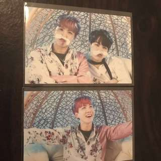 Jhope and unit wings mini pc version 1 BTS