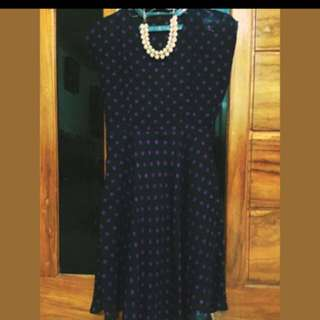 Dress Polkadot Marlyn Monroo