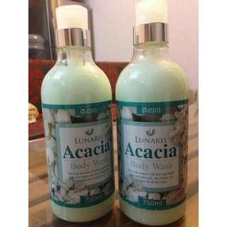 Lunaris Acacia Body Wash 750ml