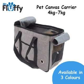 Pet Canvas Carrier 4kg-7kg