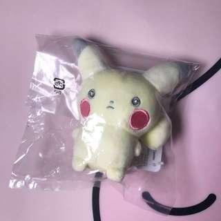 日本直送 Pokémon centre dessert party 比卡超公仔鎖匙扣