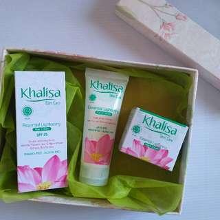 Khalisa Skincare Set