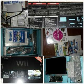 Nintendo Wii Black Console (Excellent Condition!)