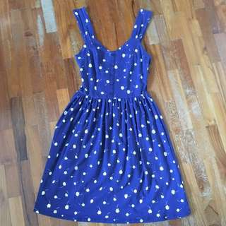 Blue Summer Dress Dorothy Perkins