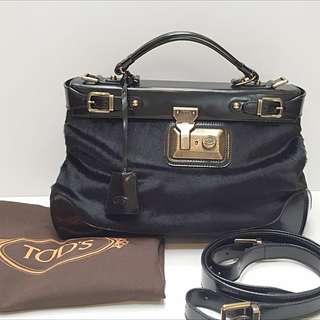 Tod's Ponyhair Handbag