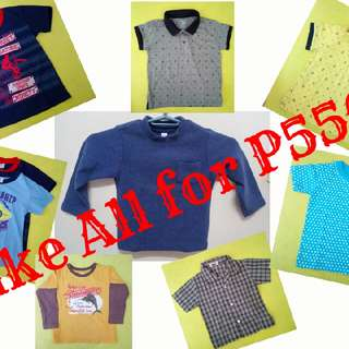 Take All For P550 (Boy's Apparel)