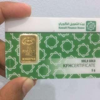 KFH Gold bar 5gram