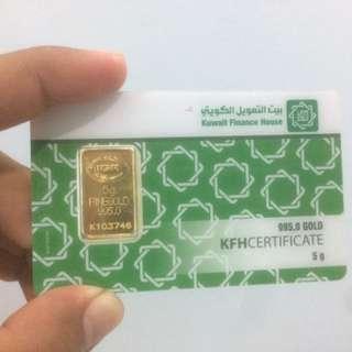 KFH gold bar