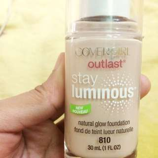 Covergirl outlast Stay luminous New Nouveau