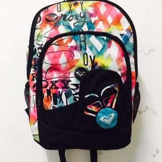💯 Authentic Roxy Backpack / Laptop Bag / School Bag