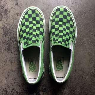 Vans Slip On Classic Checkerboard