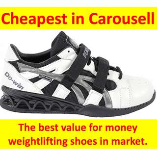 f1500df3ae78  Pre Order  DO-WIN Dowin Pendlay Advance Black White Olympic weight lifting  Shoes