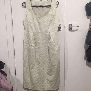 Fitted mid length dress