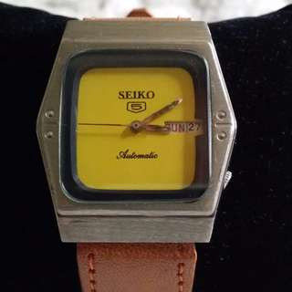 Vintage Watch – Beautiful Unique Yellow Dial Automatic SEIKO