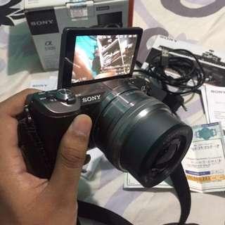 Sony A5100 video 4K 16-50Mm emount garansi feb 2018