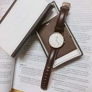 DW 36mm手錶