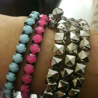 Bracelet bundle Grunge Alternative Clubbing
