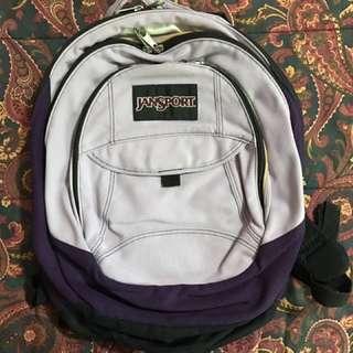 Jansport 3-Zipper/Compartment Backpack