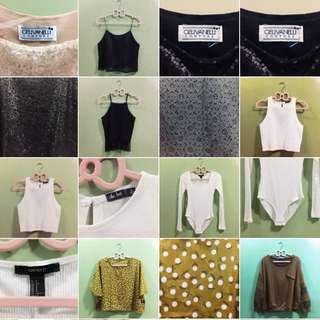 New Uploads Today: Pre-loved Clothings