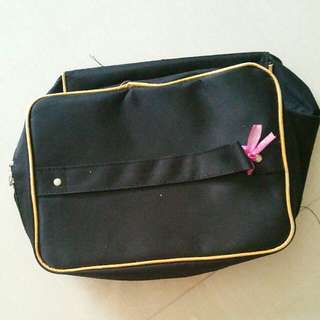 (3) Black Portable Travel Cosmetic Makeup Bag With Mirror #IDoTrades