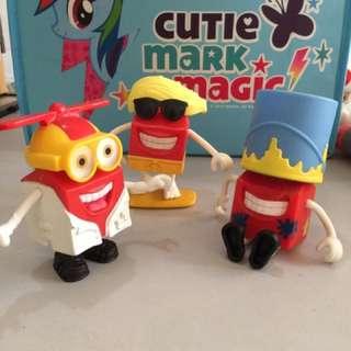 McDonald's Happy Meal Box toys