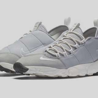 nike air footscape nm wolf grey 女鞋