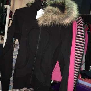 Lululemon jacket - With Fur Hoodie