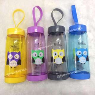 Cute Owl Cartoon Water Tumbler For Kids