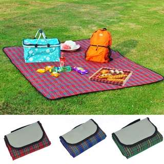 Extra Large Waterproof Picnic Blanket Camping Mat Rug Travel Outdoor Beach Camping Fleece
