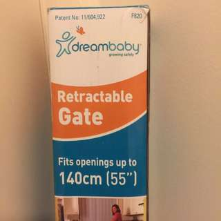 Retractable Security Gate