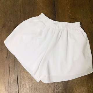 White Mini Shorts