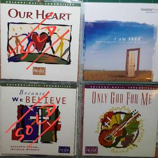 CD Christian Praise And Worship Hosanna Music
