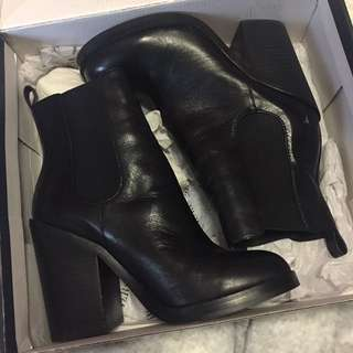 Windsor Smith Black Leather Boots