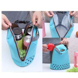 Portable Baby Feeding Milk Bottle Warmer Mummy Insulation Tote Bags Food Box