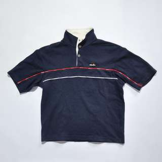 ELLESSE HALF BUTTON UP SHIRT
