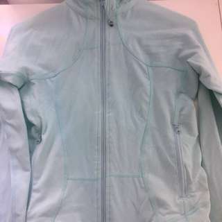 LULULEMON JACKET TEAL BLUE XS