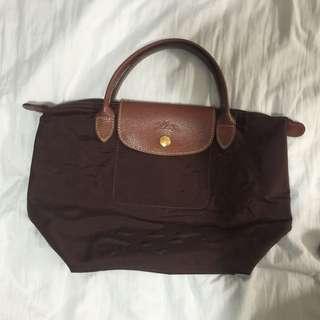 Longchamp 法國製 S號 尼龍手提包